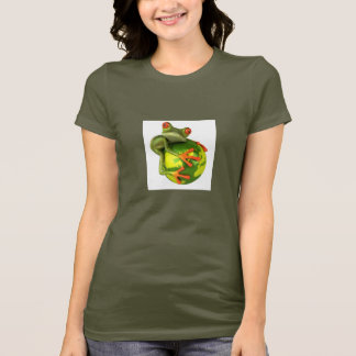 Frog protects the world ! T-Shirt