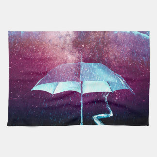 Frog Rain Umbrella Animals Kitchen Towel