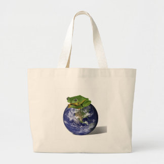 Frog Save The World Bag