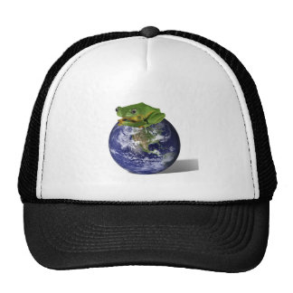 Frog Save The World Hats