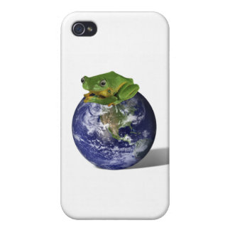 Frog Save The World iPhone 4 Case
