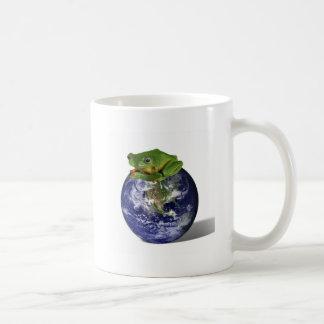 Frog Save The World Mugs