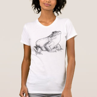 Frog Shirt Bullfrog Art T-shirt Cool Frog  Gift