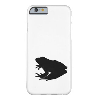 Frog Silhouette Barely There iPhone 6 Case