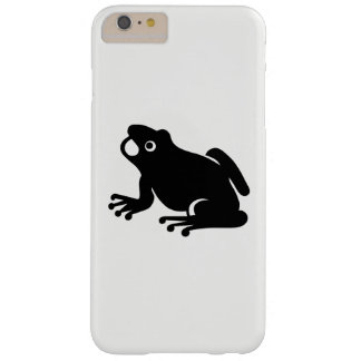 Frog Silhouette Barely There iPhone 6 Plus Case