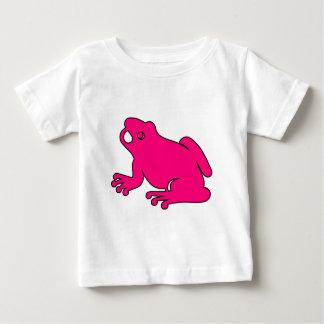 Frog Silhouette Froggy Jump Amphibians Hop Baby T-Shirt