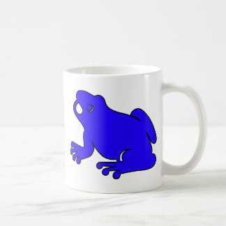Frog Silhouette Froggy Jump Amphibians Hop Classic White Coffee Mug