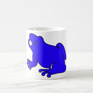 Frog Silhouette Froggy Jump Amphibians Hop Mug