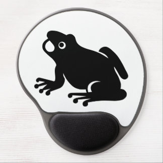 Frog Silhouette Gel Mouse Pad