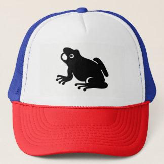 Frog Silhouette Trucker Hat