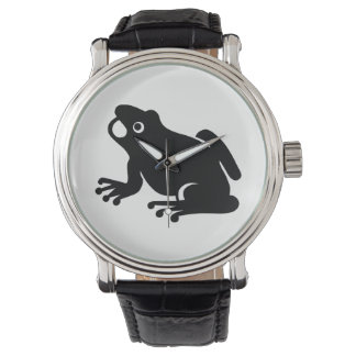 Frog Silhouette Watch