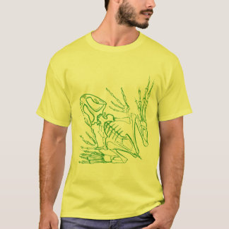 frog skeleton T-Shirt