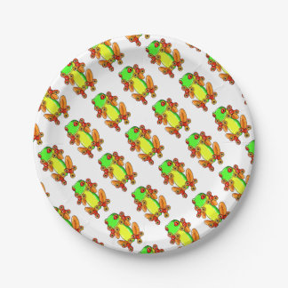 Frog spinner 7 inch paper plate