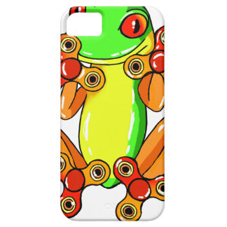 Frog spinner case for the iPhone 5