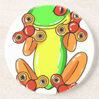 Frog spinner coaster