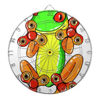 Frog spinner dartboard