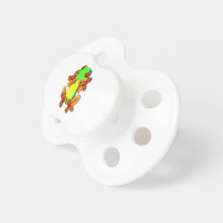 Frog spinner pacifier