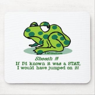 Frog STAT Mouse Pad