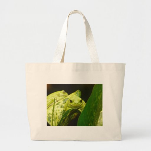frog,tree frog tote bag