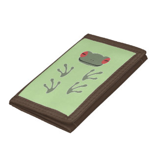 Frog Trifold Wallets