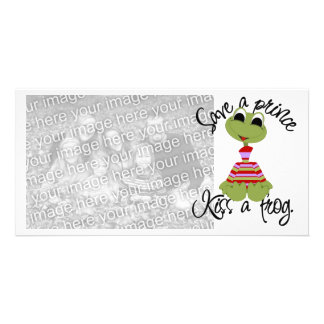 Frog Valentines Photo Card
