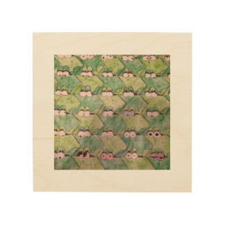 Frog Wall Art Wood Prints