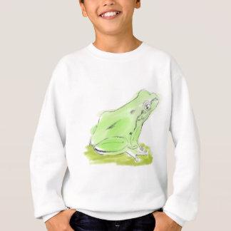 Frog water color sweatshirt