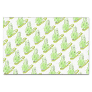 Frog water color tissue paper