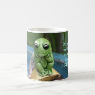Frog With A Message Mug