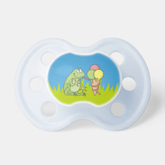 Frog with Icecream Baby Pacifier