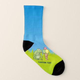 Frog with Icecream Socks