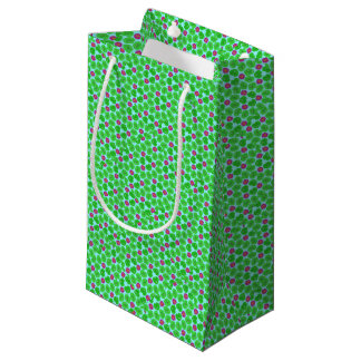 Frog with lily small gift bag