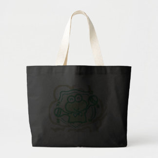 Frog with Maracas Tshirts and Gifts Canvas Bags