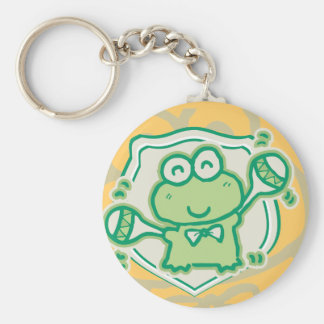 Frog with Maracas Tshirts and Gifts Key Chain