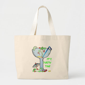 Frogarita Large Tote Bag