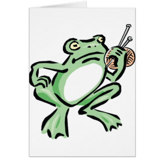 Frogger Card