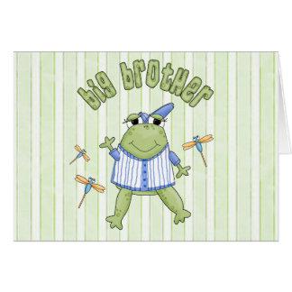 Froggie Big Brother BG Note Card