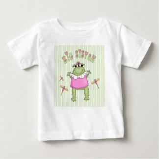 Froggie Big Sister Baby T-Shirt