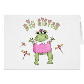 Froggie Big Sister Cards