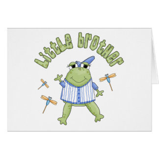 Froggie Little Brother Cards
