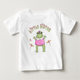 Froggie Little Sister Baby T-Shirt