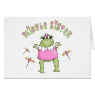 Froggie Middle Sister Cards