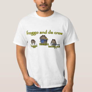 froggo and da crew band tee