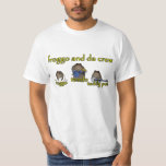 froggo et pièce en t de bande d'équipage du DA T-shirt