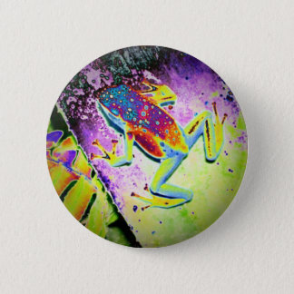 Froggy 2 Inch Round Button
