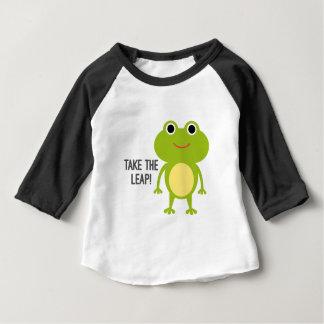 Froggy Baby 3/4 Sleeve Raglan T-Shirt