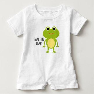Froggy Baby Romper