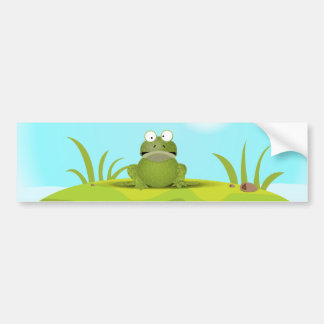 Froggy Bumper Sticker