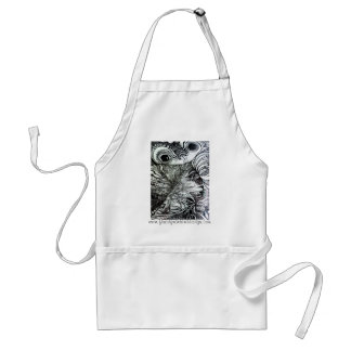 Froggy Day apron