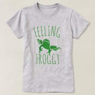 Froggy de sentiment t-shirt